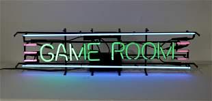1950s Style Gameroom Light Up Neon