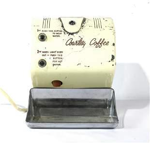 Vintage Motel Courtesy Coffee Maker