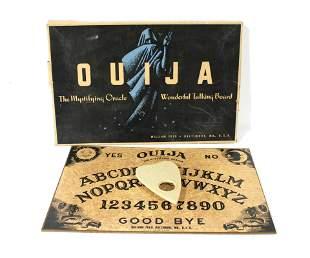Vintage Oiuja Board by William Fuld of Baltimore, MD