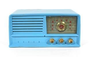 Arvin Blue Painted Radio