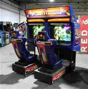 Sega Planet Harriers Sit Down Arcade Game