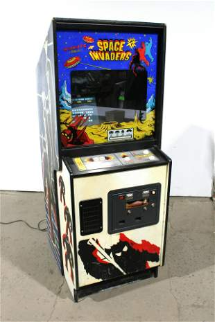 Midway Space Invaders Arcade Game