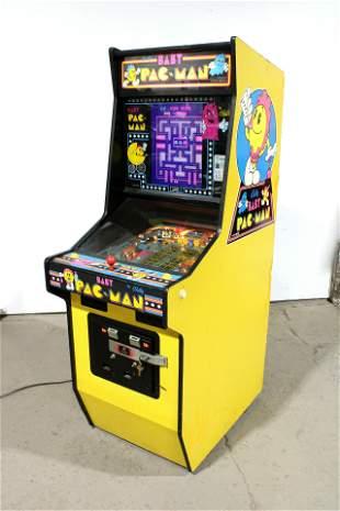 Bally Baby Pac-Man Pinball Arcade Machine
