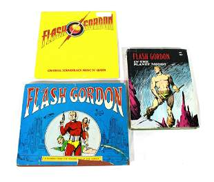 Collection of Flash Gordon Memorabilia