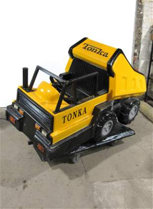 Tonka Dump Truck Coin Operated Kiddie Ride