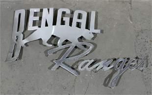 Bengal Ranges Metal Sign