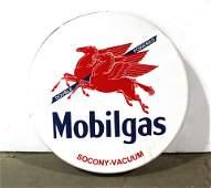 Large Mobil Oil Pegasus Station Sign