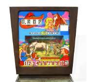 Gottlieb Cow Poke Animated Wedgehead Pinball Machine