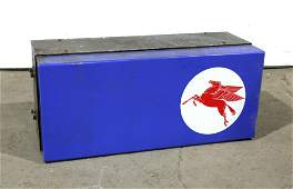 Gas Station Island Topper with Mobil Oil Pegasus