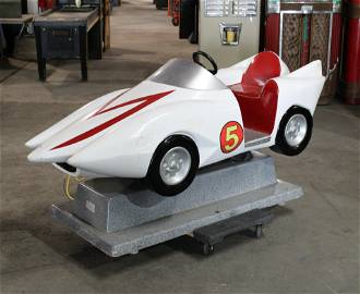 Speed Racer Coin Operated Kiddie Ride