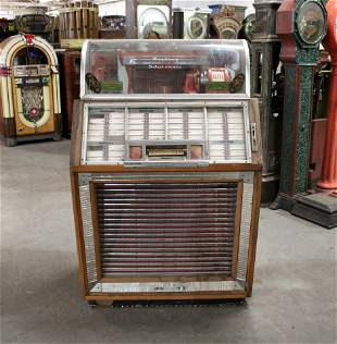 1950s Seeburg B Coin Operated Jukebox