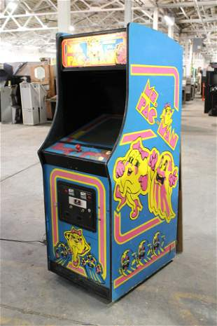 Bally Ms. Pac-Man Arcade Game