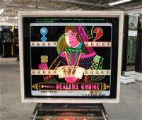 Williams Dealer's Choice Pinball Machine
