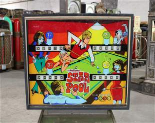 Gottlieb Star Pool Pinball Machine