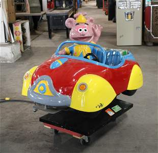 The Muppet Babies Fozzy The Bear Kiddie Ride