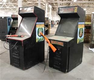 Pair of Big Buck Hunter Arcade Games