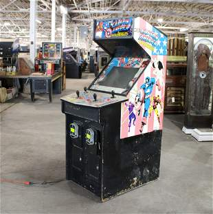 Data East Captain America Arcade from Indiana Beach