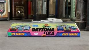 Sega Daytona USA Arcade Header