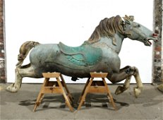 C. 1907, Philadelphia Toboggan Co. Carousel Horse