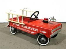 1950s Fire Engine Pedal Car