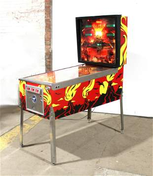 Gottlieb Volcano Pinball Machine