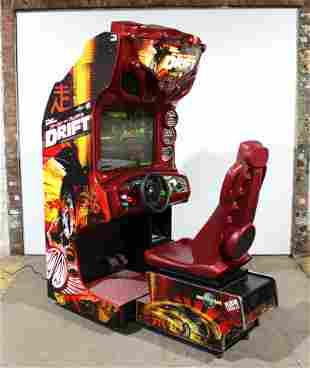 The Fast & The Furious Drift Racing Sit Down Arcade