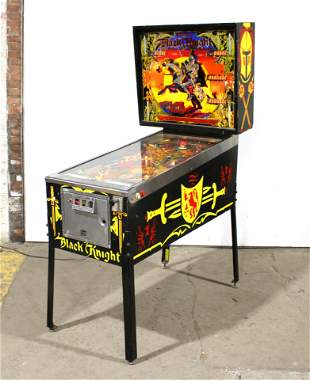 Williams Limited Edition Black Knight Pinball Machine