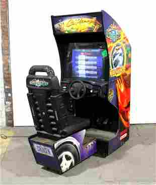 Midway Cruisn' Exotica Sit Down Racing Arcade