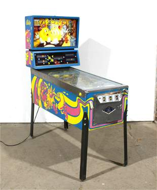 Bally Mr. & Mrs. Pac-Man Pinball Machine