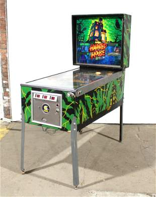 Gottlieb Haunted House Pinball Machine