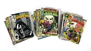 Marvel Comics Spectacular Spiderman Comic Books
