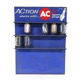 AC Spark Plug Display Shelf