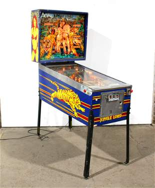 Williams Jungle Lord Pinball Machine