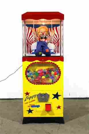 Ziggy The Clown Coin Op Vending Machine, Lot 2
