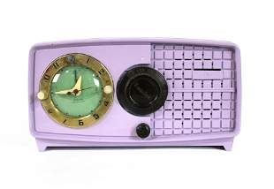 Lavender Painted Esquire Radio