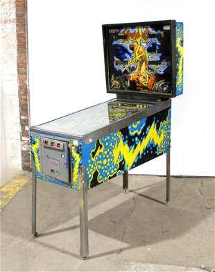 Stern Lightning Pinball Machine