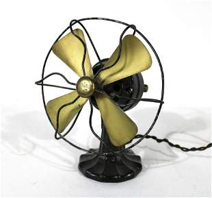 Polar Cub Small Cast Iron Fan