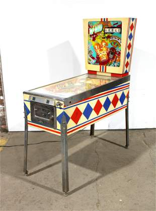 Gottlieb Top Card Wedgehead Pinball Machine