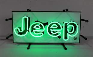 Jeep Light Up Neon Sign