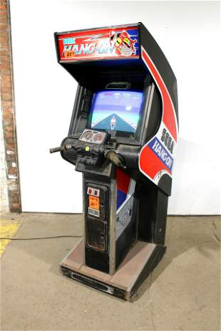 Sega Hang On Arcade Game