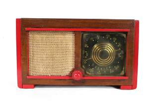 1948 Zenith Consoltone Painted Wooden Radio