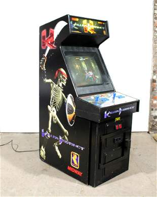 Midway Killer Instinct Arcade Game