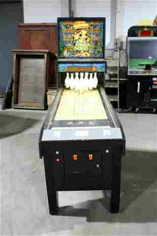Williams Gold Mine Shuffle Alley Arcade Machine