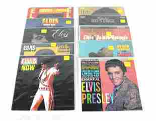 Collection of Elvis Records, Lot of 10