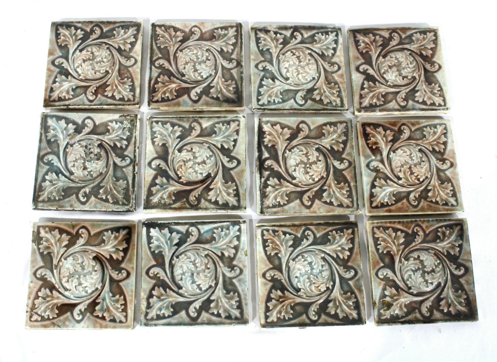 Trent Fireplace Tiles, Set of 12