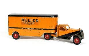 1930s Buddy L Allied Van Lines Truck