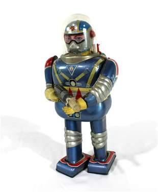 Daiya Japan Astronaut Tin Litho Toy
