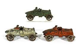 Hubley Cast Iron Race Car Toys