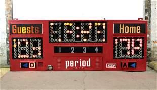 8FT Nevco Light Up Scoreboard