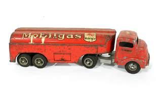 Smith Miller Smitty Toys Mobil Oil Tanker Truck